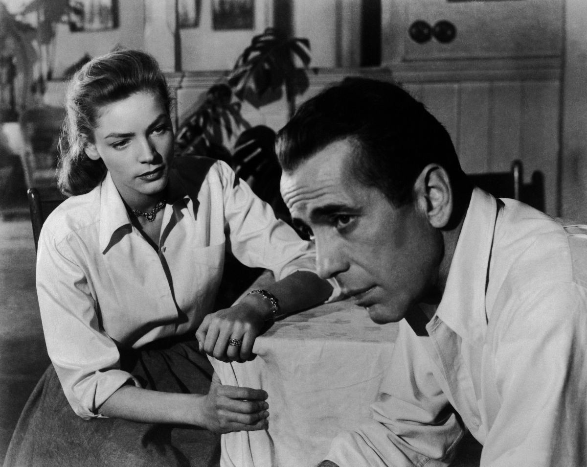 Sparks On The Set: Humphrey Bogart and Lauren Bacall met on the set of 1944's To Have and Have Not. She was 19. He was 45, and on his third marriage. The two eventually married, had two children, and stayed together until Bogart's death in 1957.