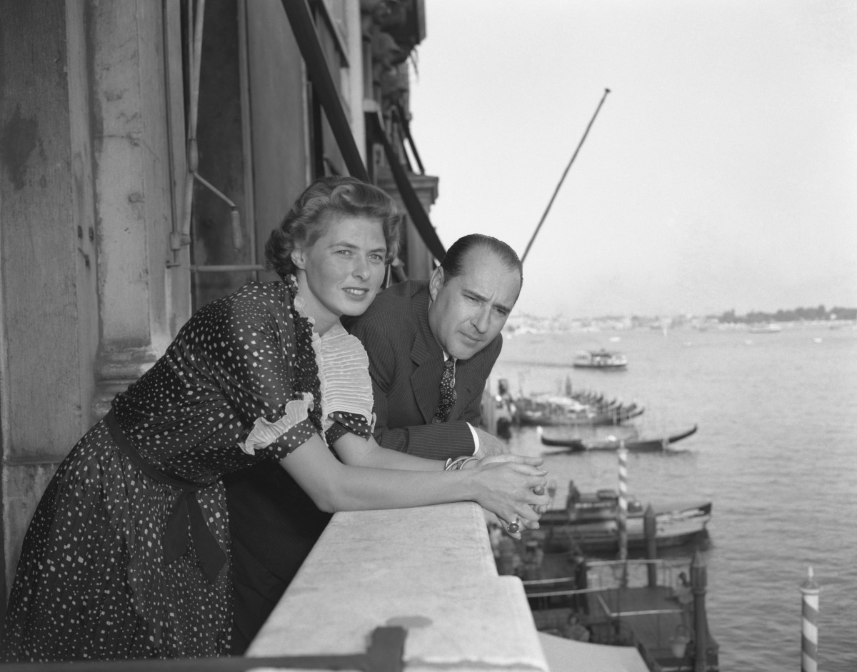 Sparks On The Set: Actress Ingrid Bergman fell in love with Italian director Roberto Rossellini while filming Stromboli in 1950. The two began an affair, divorced their spouses, and married in 1950, resulting in a scandal. Actress Isabella Rossellini is their daughter.
