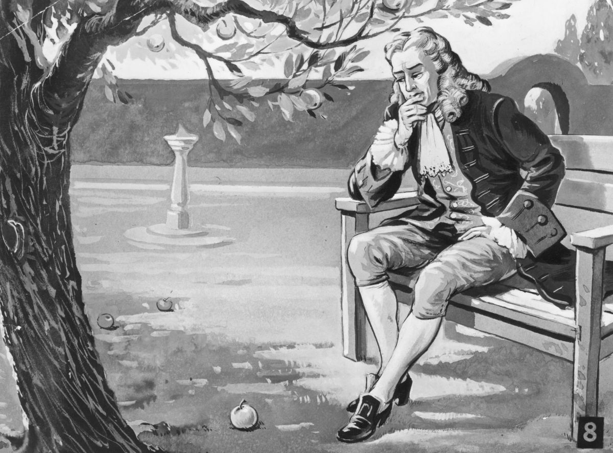 Apple Icons: After watching an apple fall from a tree, Newton claimed he had an  epiphany about the concept of gravity. Since then, several people have  stepped forward to claim ownership of the original apple tree Newton  described. (Photo: Getty Images)