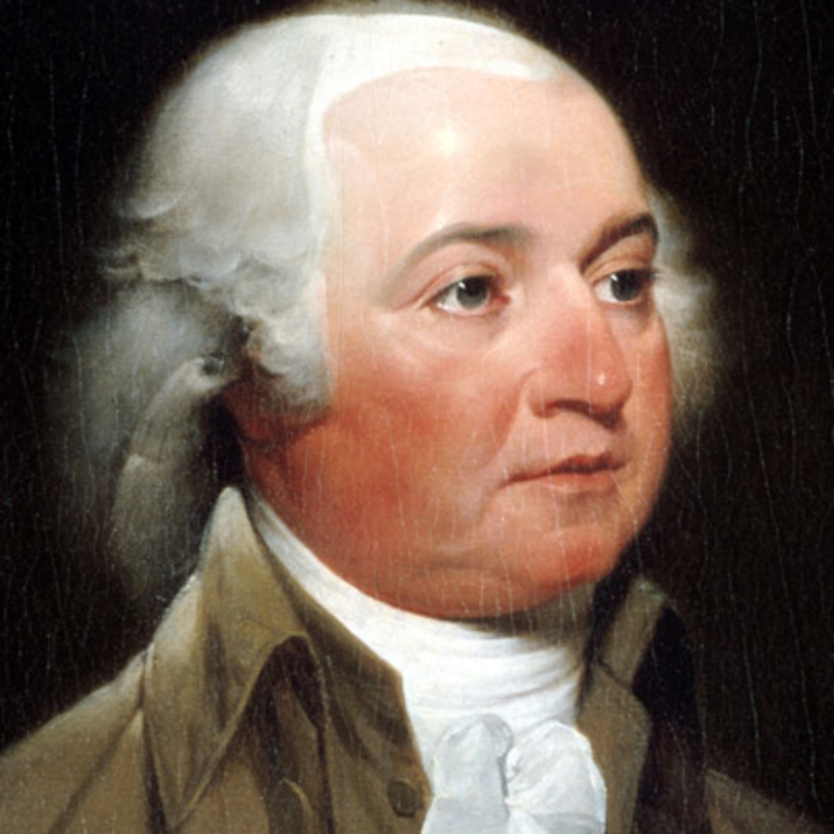 John adams u s president biography for Did george washington live in the white house