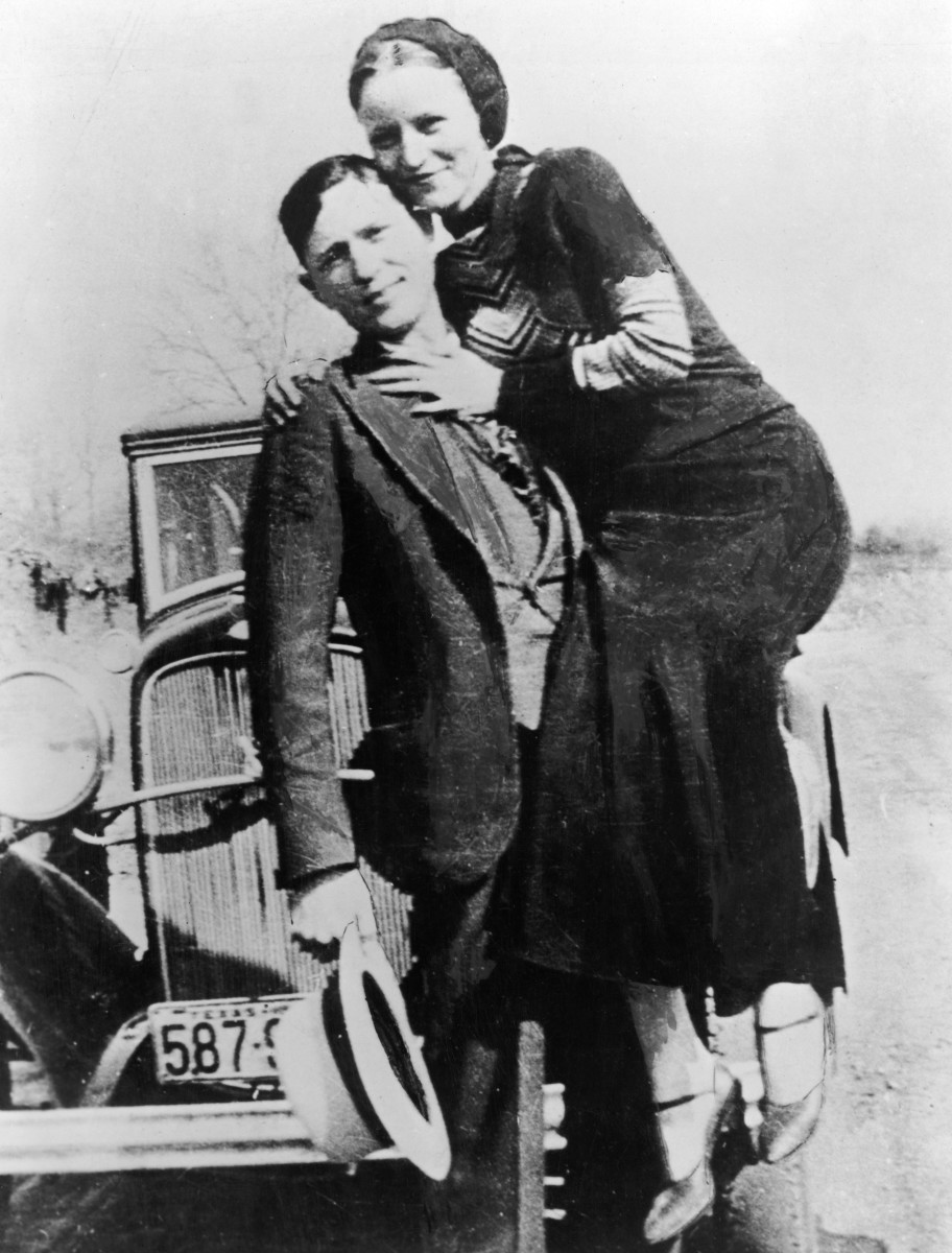 bonnie and clyde photos biography