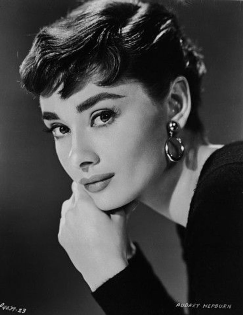 A Portrait Of Audrey Hepburn