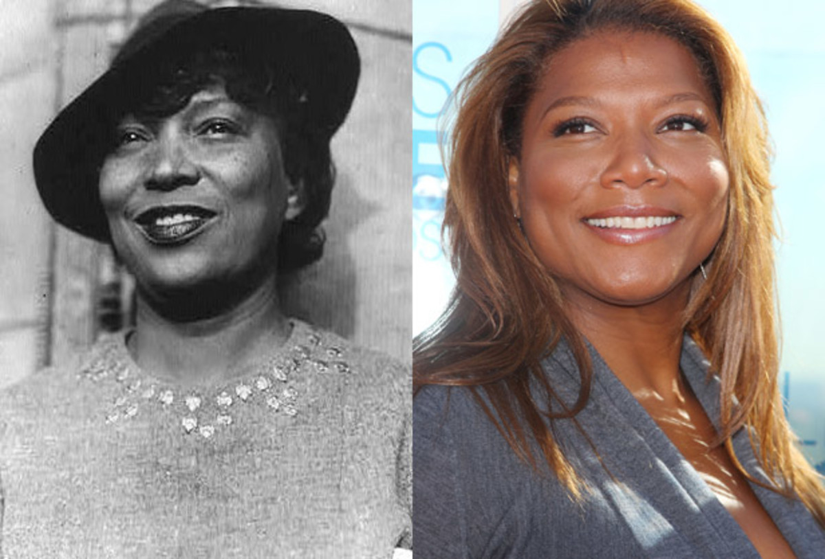 Cool Does Queen Latifah Look Like Zora Neale Hurston Biography Com Hairstyles For Men Maxibearus