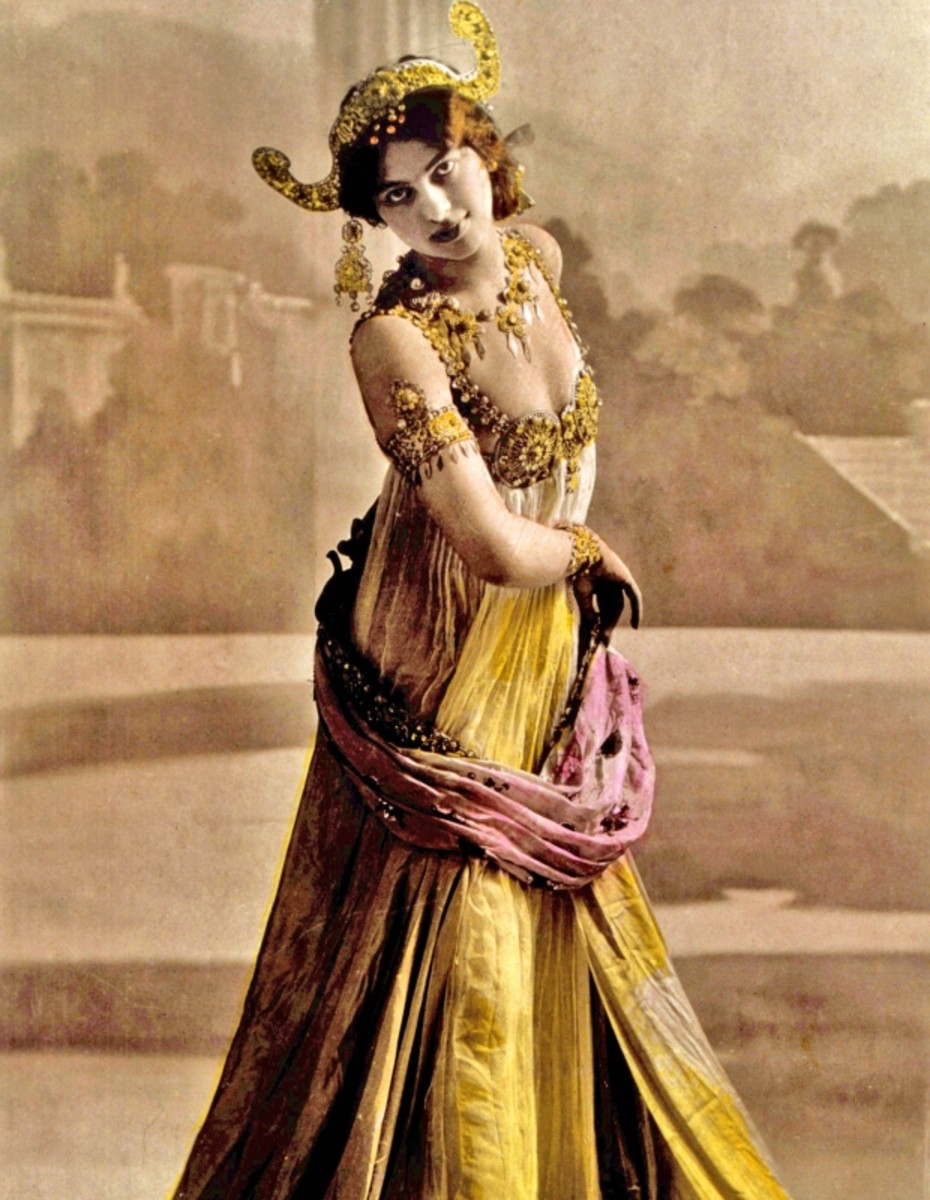 Portrait of Mata Hari circa 1915. (Getty)