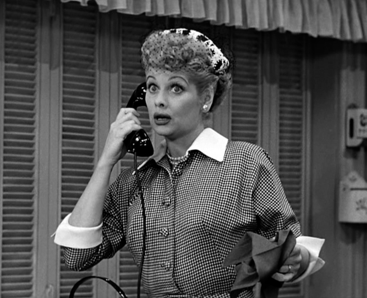 American actress and comedienne Lucille Ball as her comic alter ego Lucy Ricardo. (Photo: Getty Images)