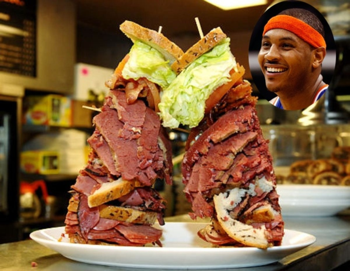 Anthony Carmelo Sandwich Photo