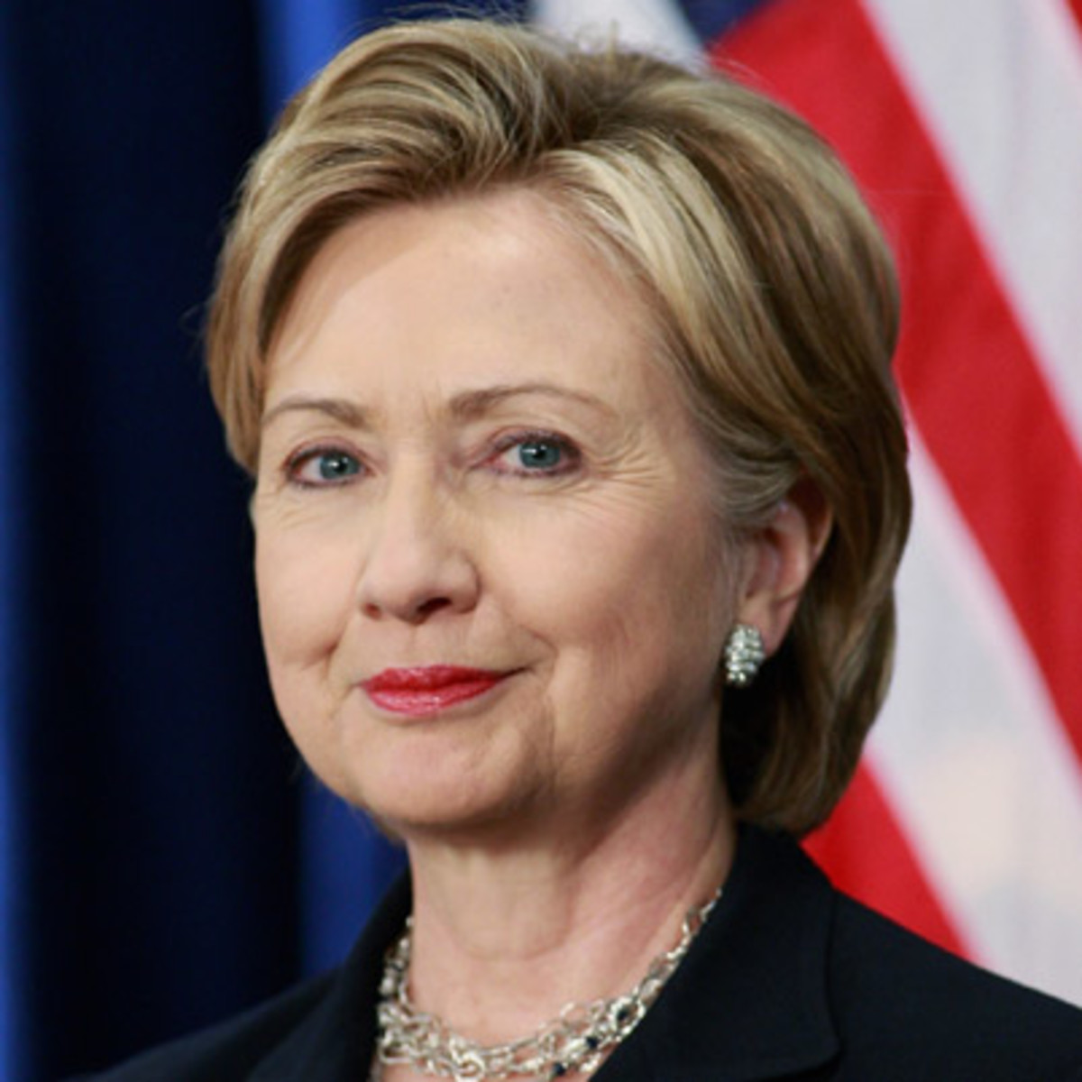 Hillary Clinton photo via Getty Images