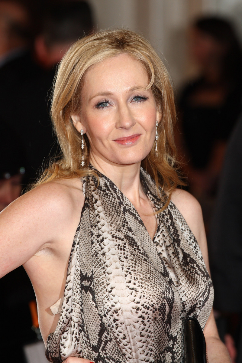 jk rowling is rolling in success photo getty images