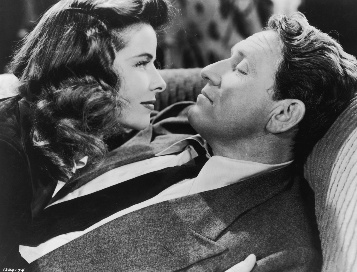 Sparks On The Set: Katharine Hepburn and Spencer Tracy had a 26-year-long affair, though Tracy, who was married, never divorced his wife. The pair acted in nine films together during that time.