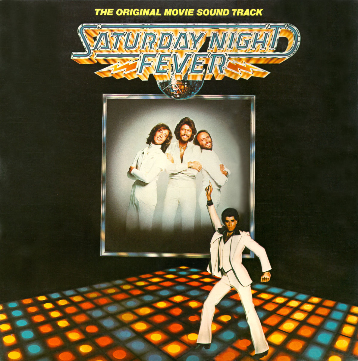 'Saturday Night Fever' Bee Gees Album Cover