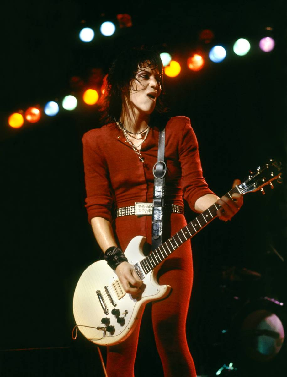 Rock of Ages Artists: Rock Respect: Joan Jett and the Blackhearts payed tribute to rock 'n roll music in 1981, with 'I Love Rock 'N Roll.' Originally recorded by the London-based band Arrows, Jett's soulful vocals and sexual undertones made the song famous. (Photo: Redferns)