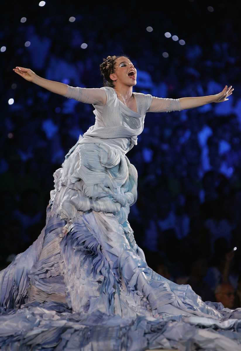 Bjork Dress Athens Olympic Games 2004 Photo