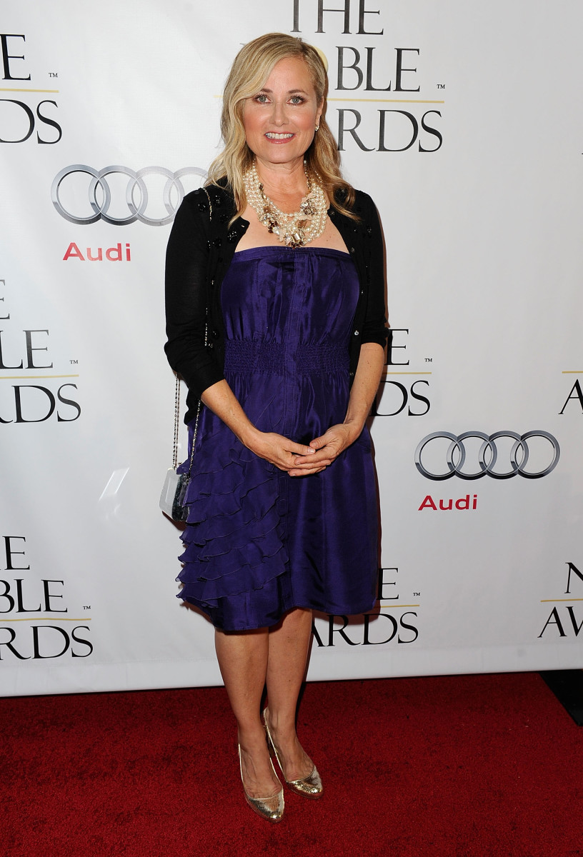 BEVERLY HILLS, CA - OCTOBER 18:  Actress Maureen McCormick arrives at the 1st Annual 'Noble Humanitarian Awards'  on October 18, 2009 in Beverly Hills, California.  (Photo by Alberto E. Rodriguez/Getty Images) *** Local Caption *** Maureen McCormick