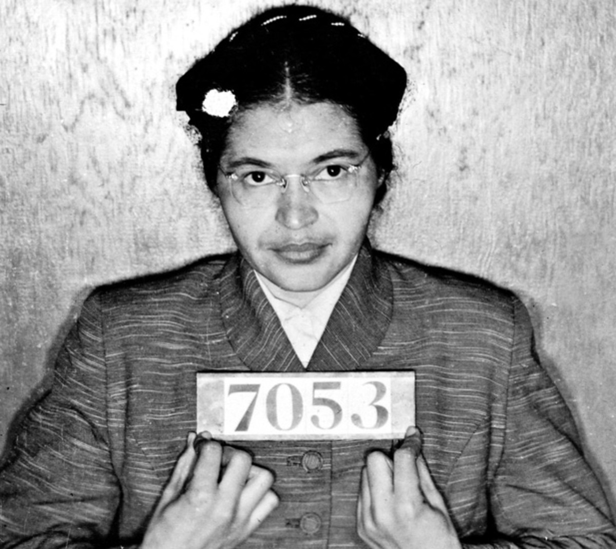 Rosa Parks, after being arrested for refusing to give up her seat. (Photo: Universal History Archive/UIG via Getty images)