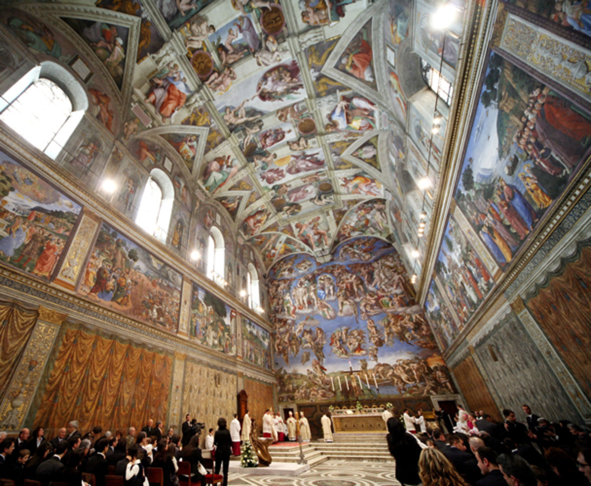 Michelangelo's Sistine Chapel Turns 500 - Biography