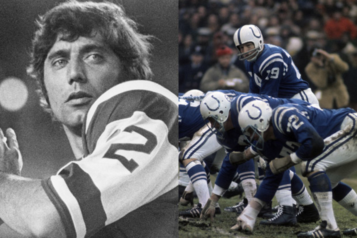 Namath vs. The Colts (Getty)
