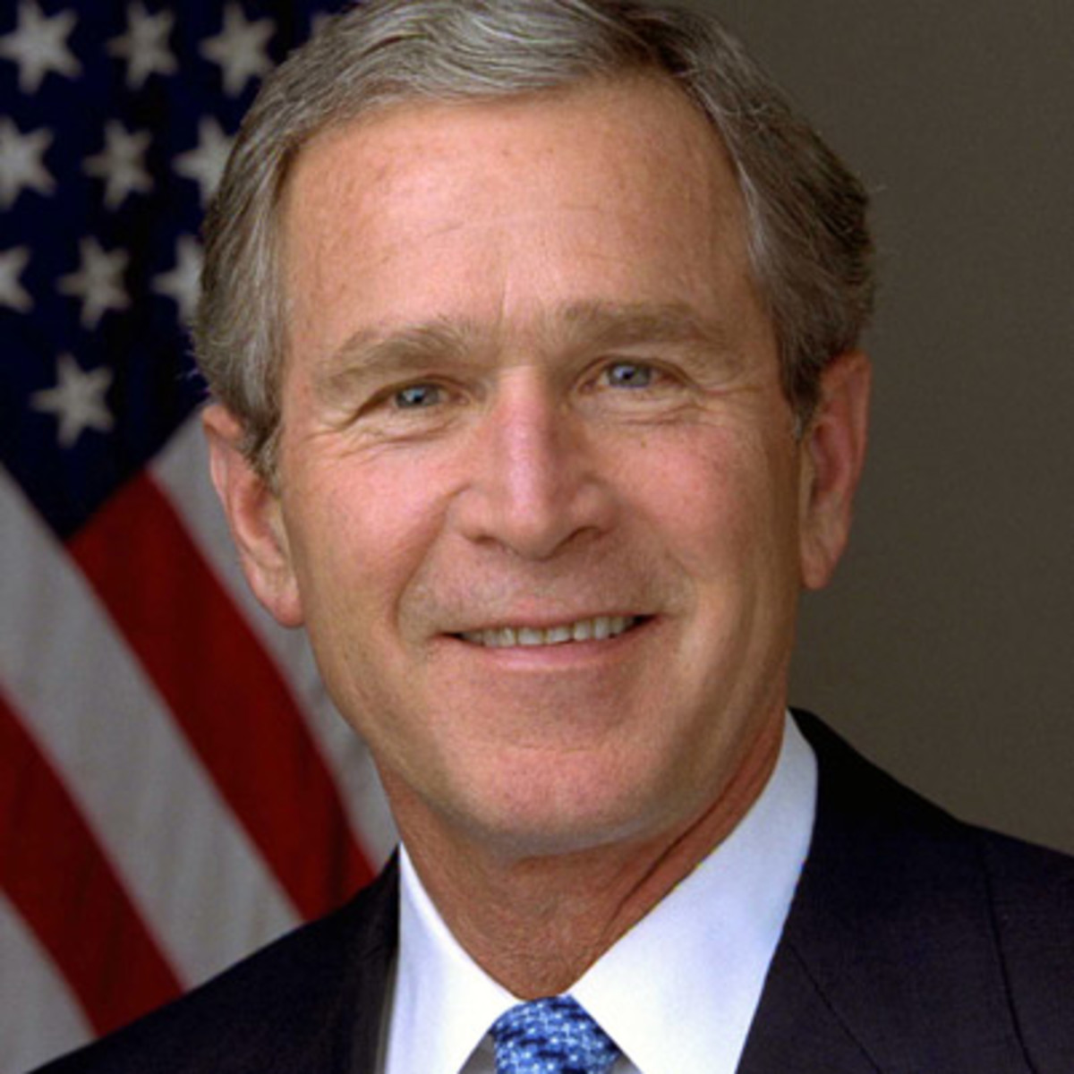 background information on george w bush