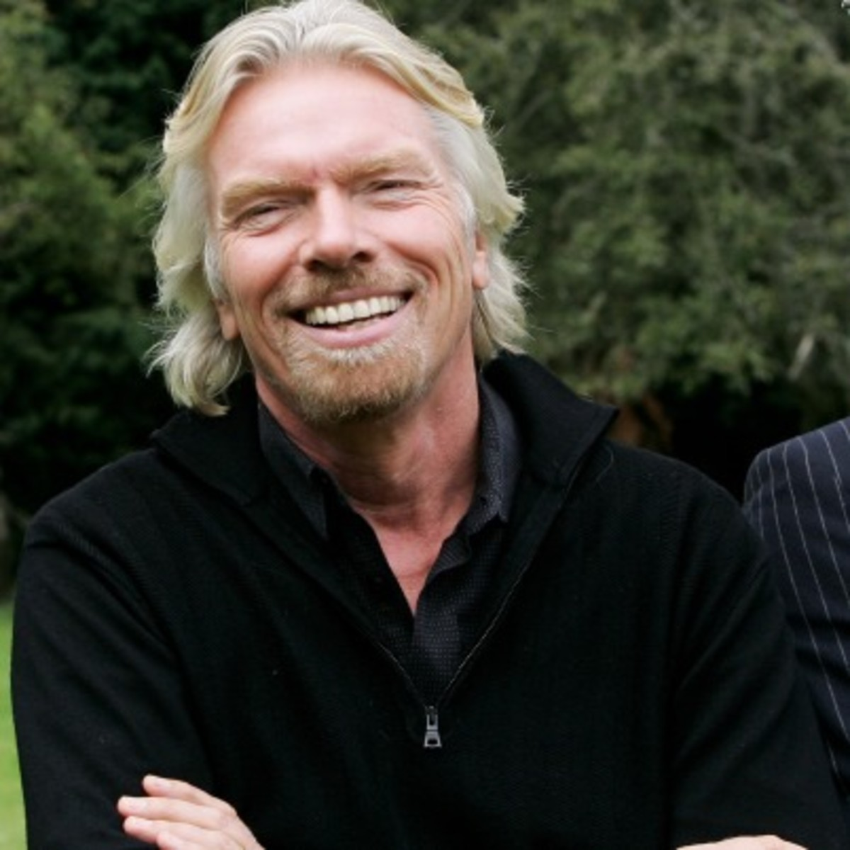 Richard Branson - Island, Life & Companies - Biography