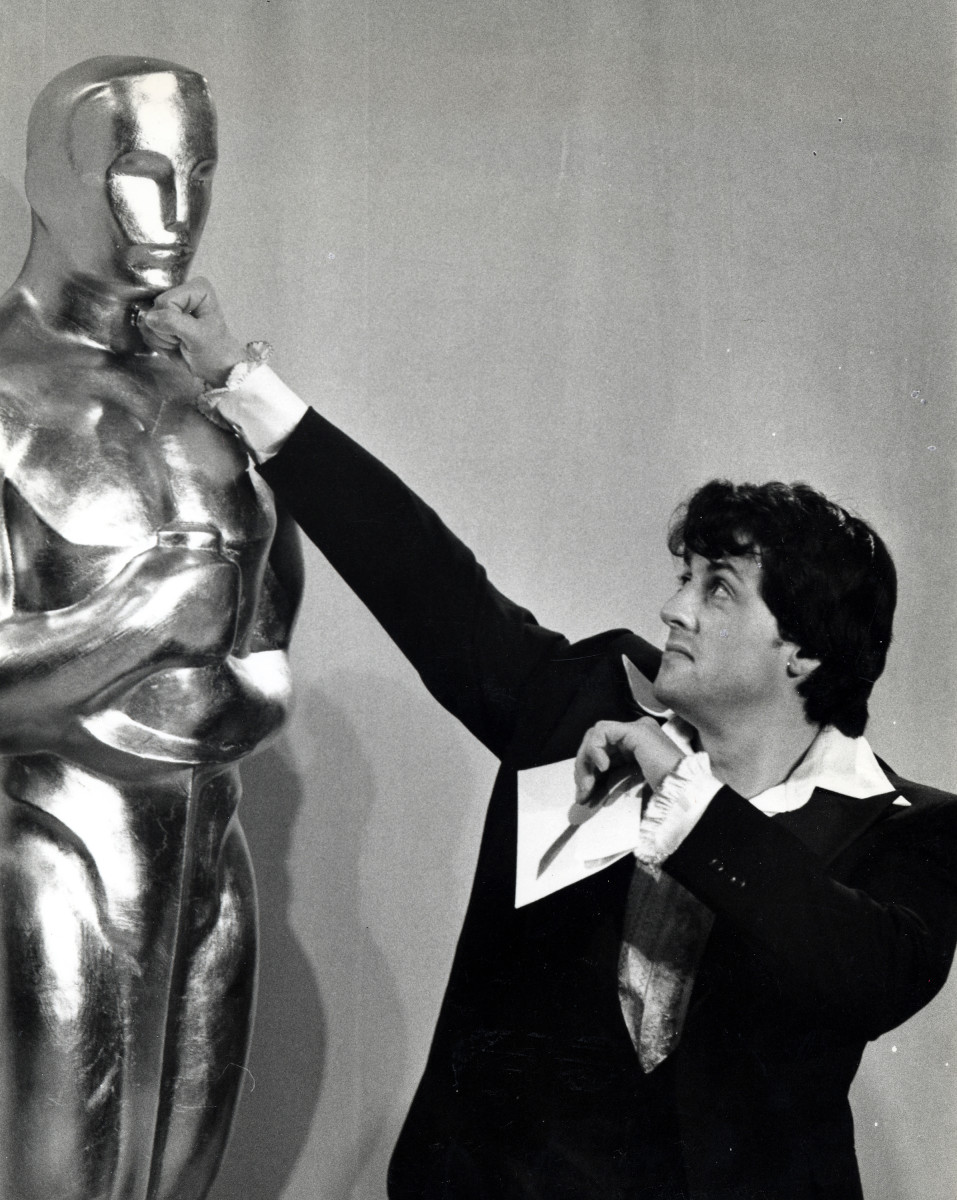 Sylvester Stallone: Rocky won three Academy Awards, and was nominated for 10, including a Best Actor nod for Stallone.