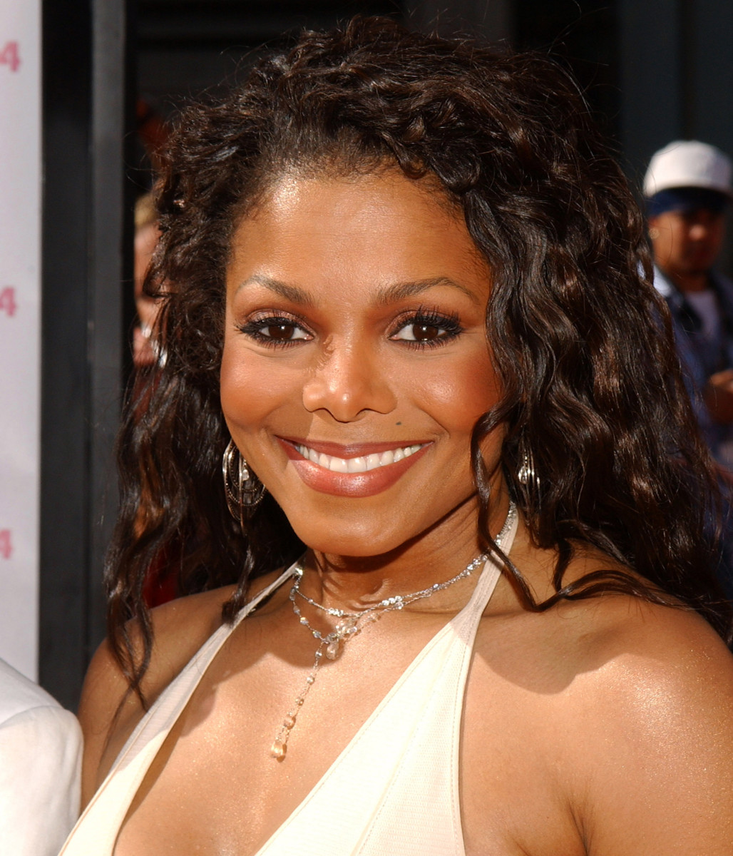 Janet Jackson at the BET Awards in 2004. (Photo: Jean-Paul Aussenard/WireImage for BET Network)