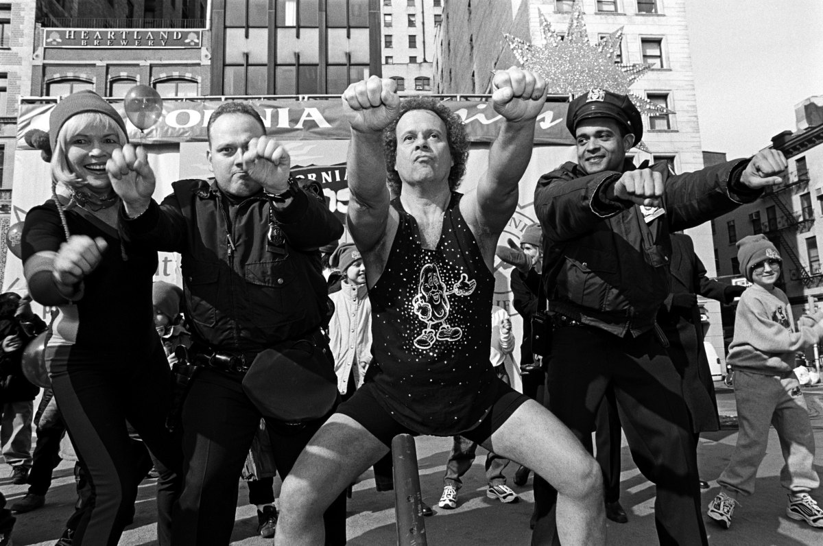 Fitness Gurus: As a teenager, the 268-pound Richard Simmons took on a series of bizarre  and unhealthy crash diets to lose weights. After learning proper  fitness and dietary techniques, Simmons created his own healthy  weight-loss program and toured the country teaching people how to get in shape.
