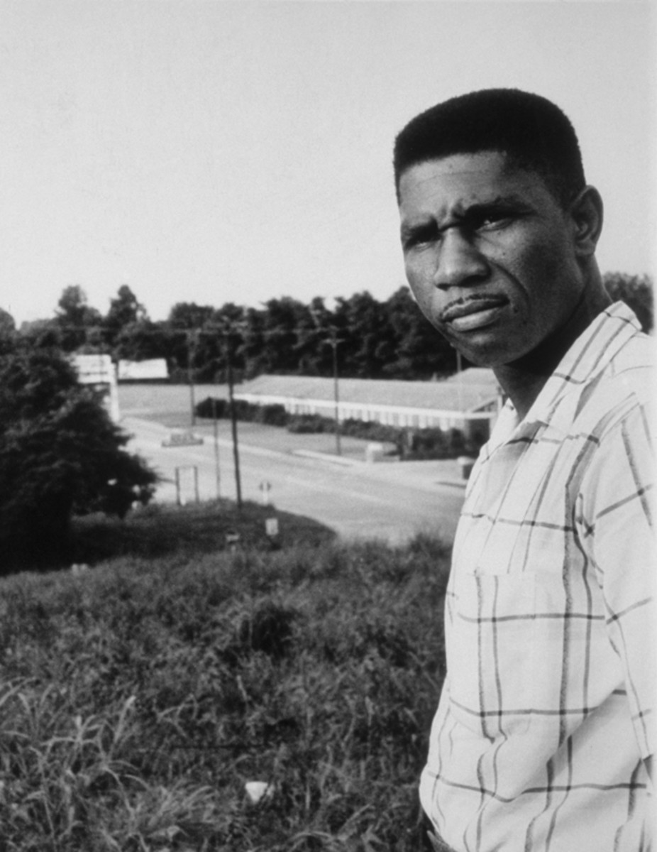 Portrait of Medgar Evers, circa 1960. (Getty)