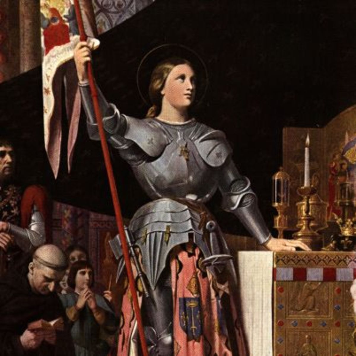 was joan of arc a knight