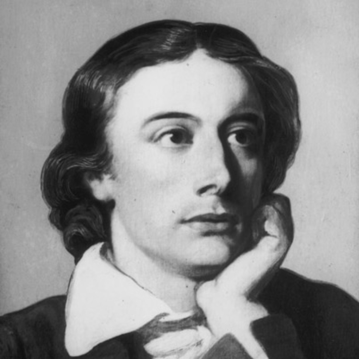 Image result for picture of the poet Keats