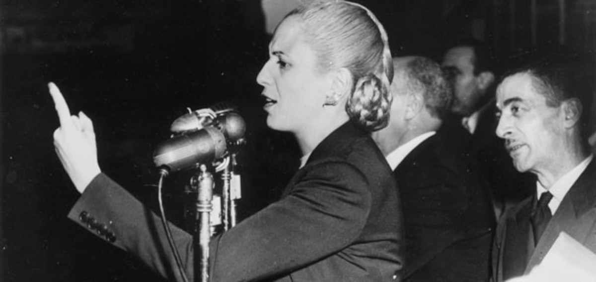 an introduction to the history of evita the first lady of argentina Argentina - history - the level of  the story of eva perón, a first lady of argentina, is told in the musical evita  introduction land climate, soil.