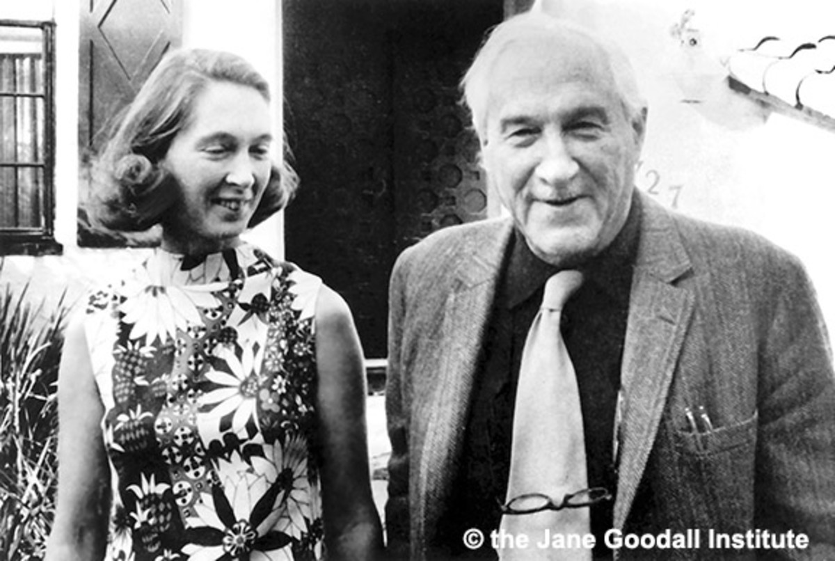 Louis Leakey Jane Goodall Photo