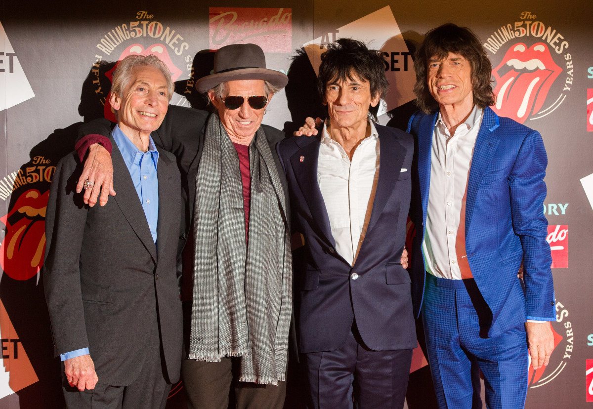 Rolling Stones 50th Anniversary Photo