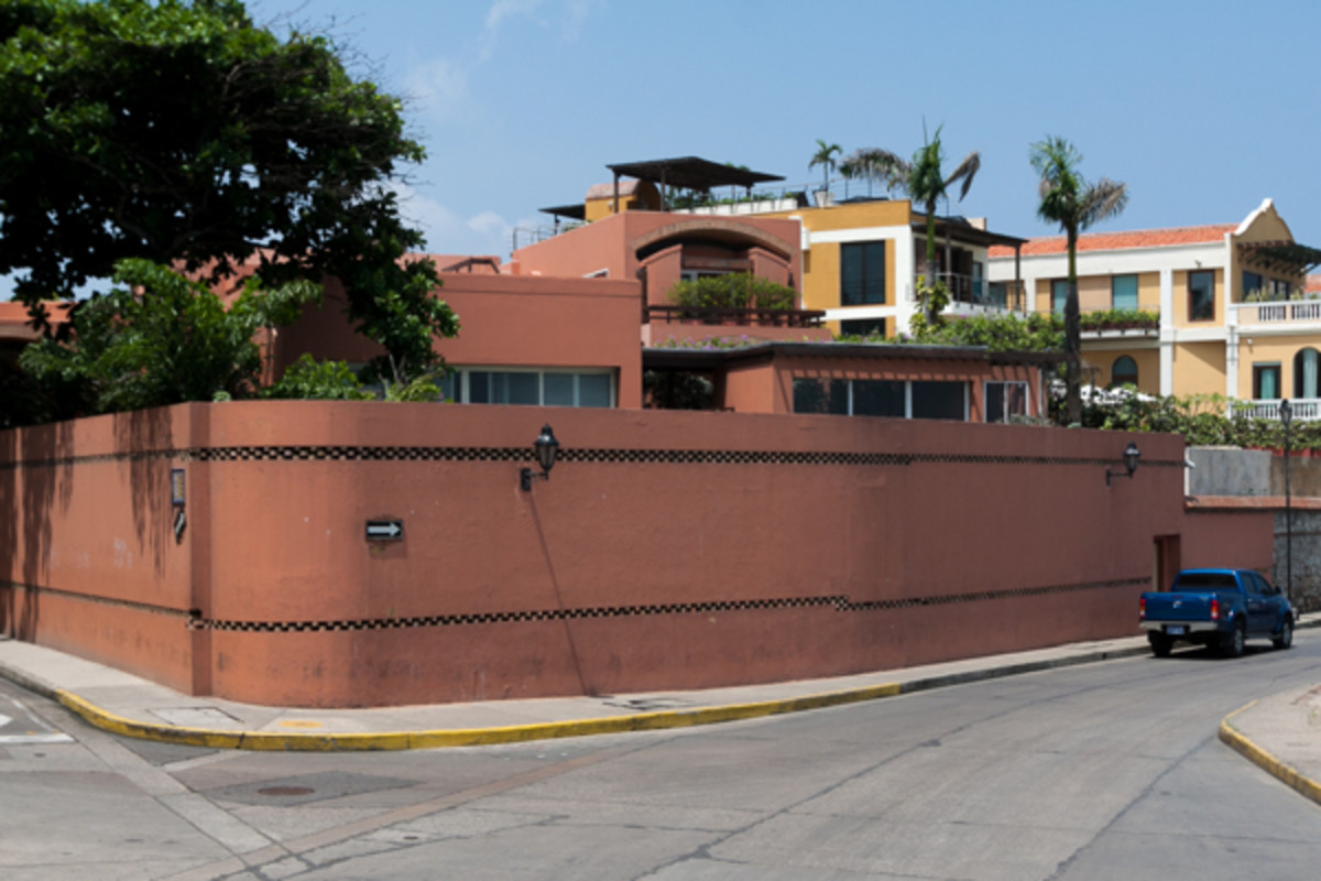 Gabriel Garcia Marquez's home in Cartagena, Colombia. (Photo: Eric Mohl)