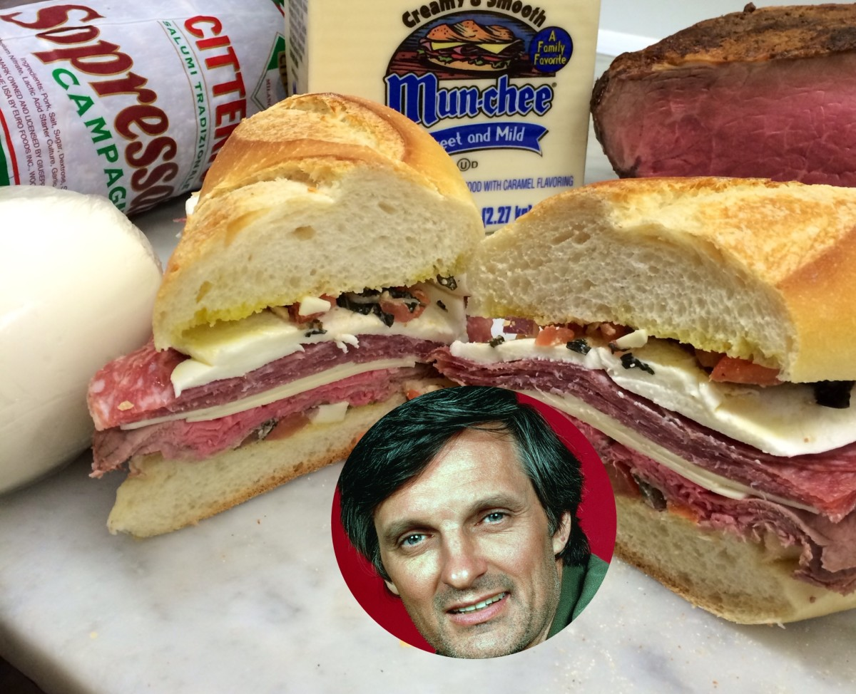 Alan Alda Sandwich Photo