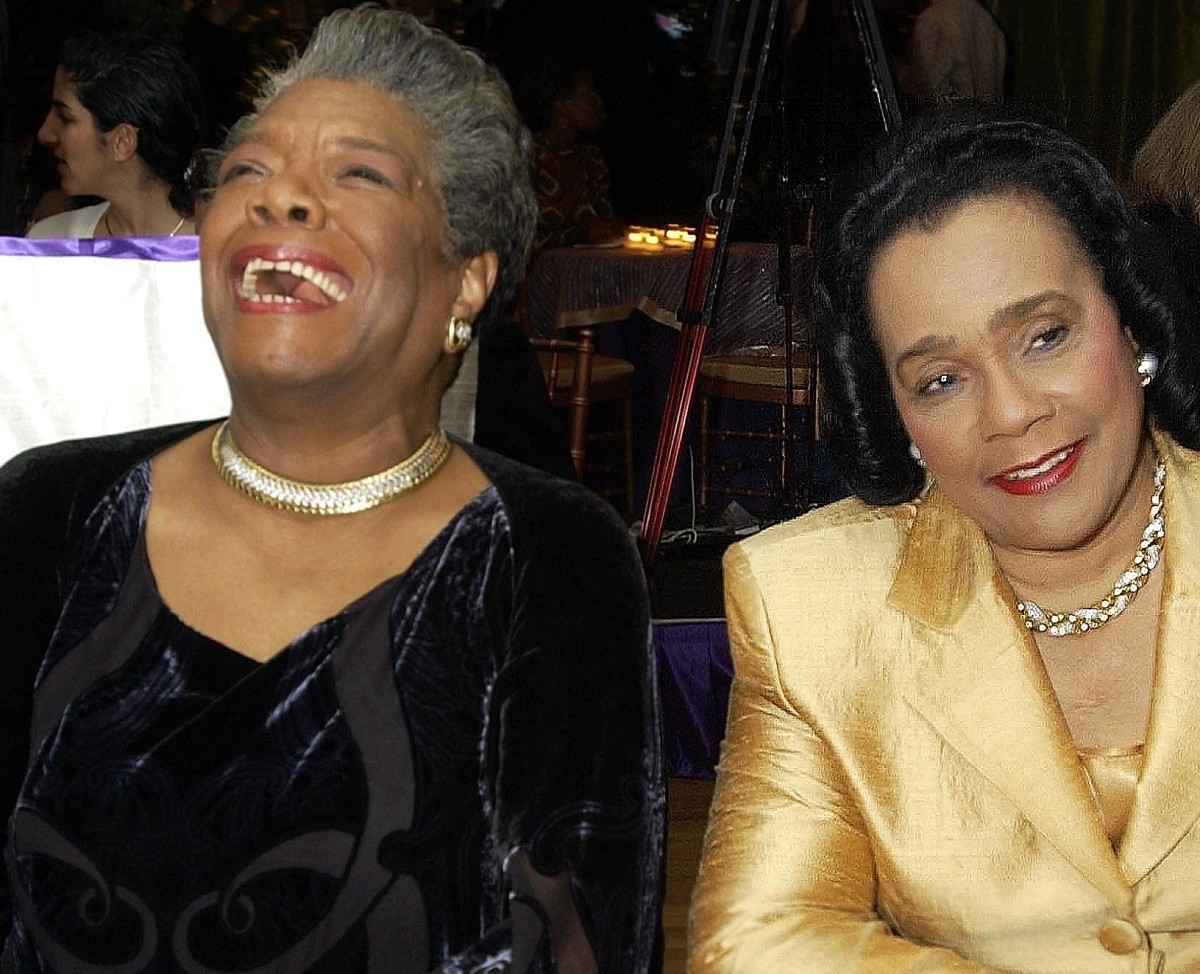a angelou author activist civil rights activist poet a angelou coretta scott king