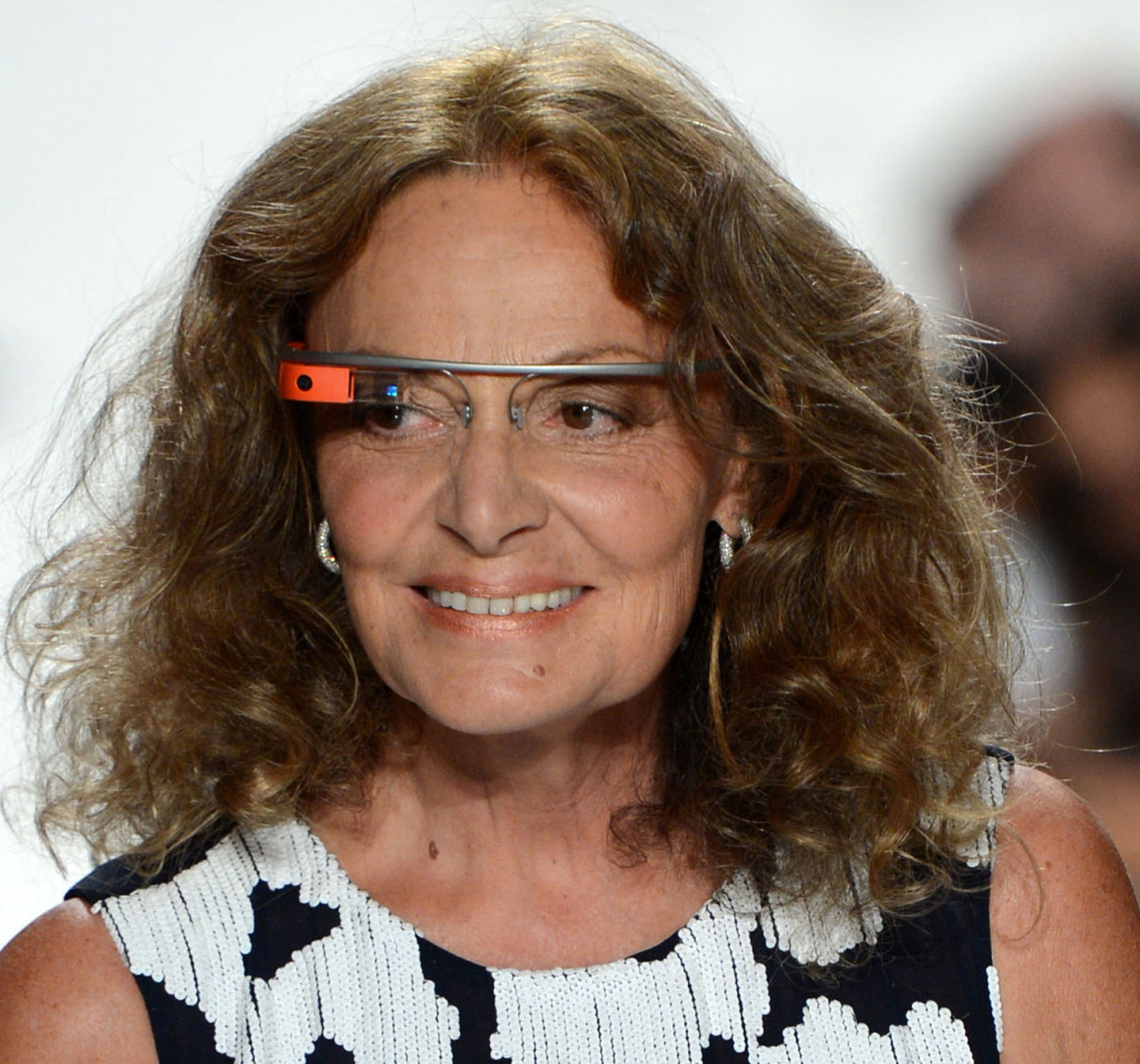Diane Von Furstenberg Google Glass Photo