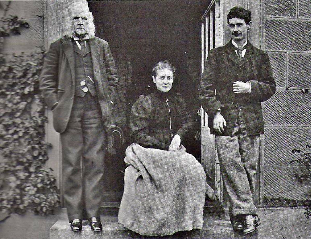 Beatrix Potter Family Photo
