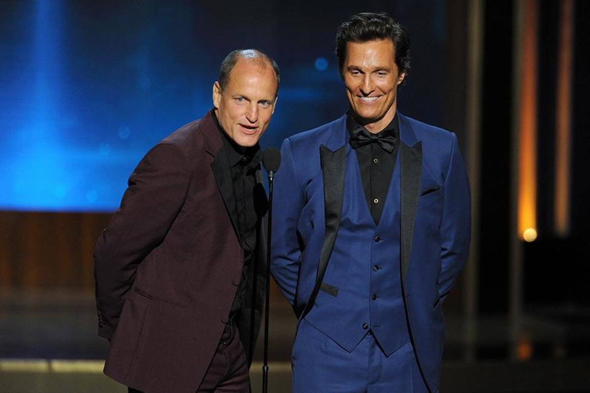 Woody Harrelson Matthew McConaughey Emmys 2014 Photo
