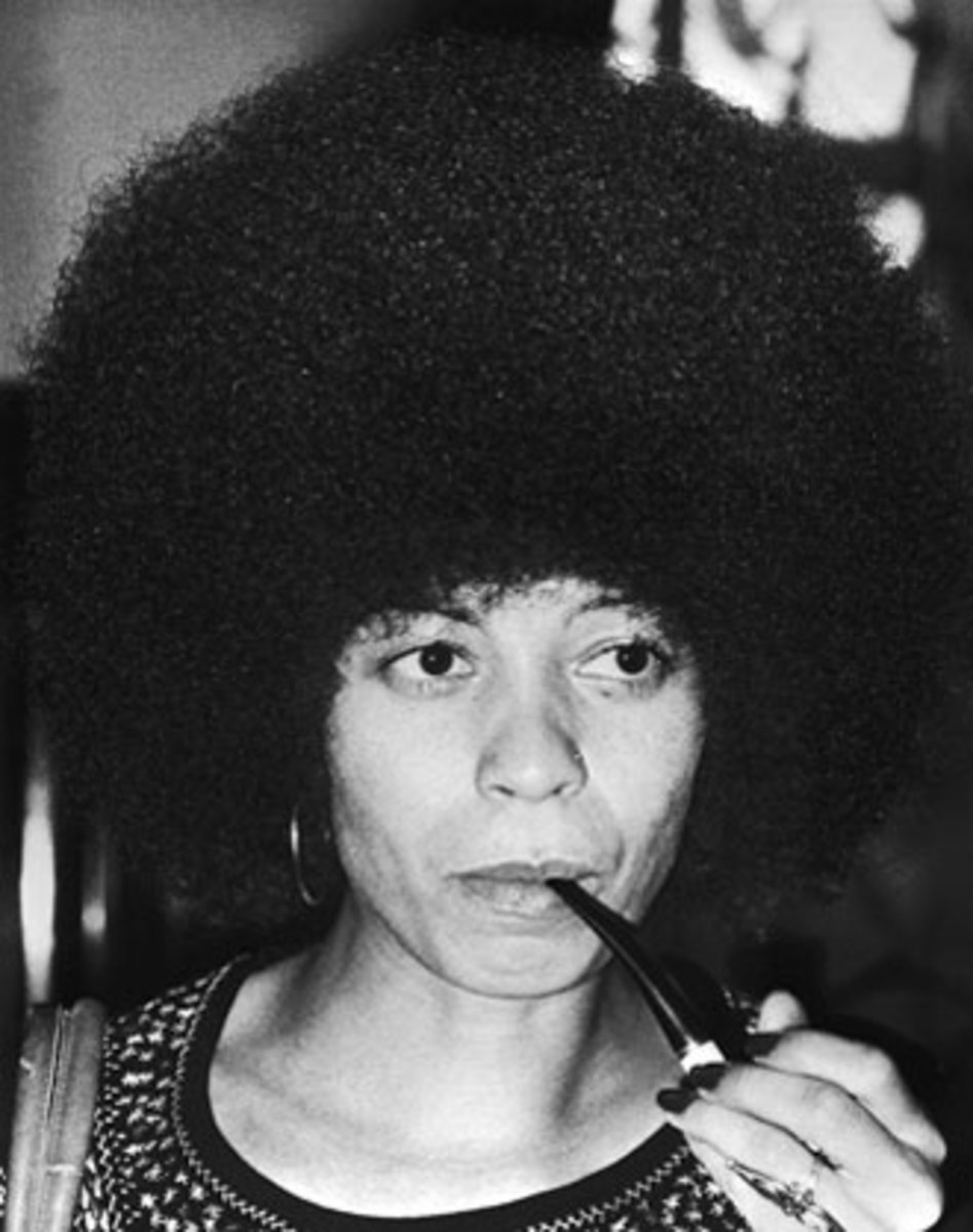 Angela Davis 1970s Photo