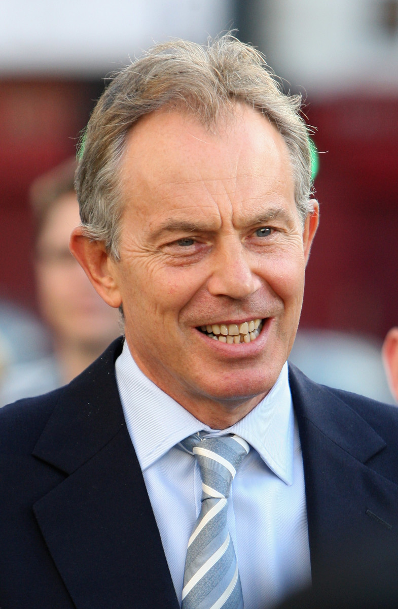 "Tony Blair had a royal tiff with the Queen after he referred to the late Princess Diana as ""the People's Princess,"" but they found common ground when the Queen addressed the nation following Diana's death."