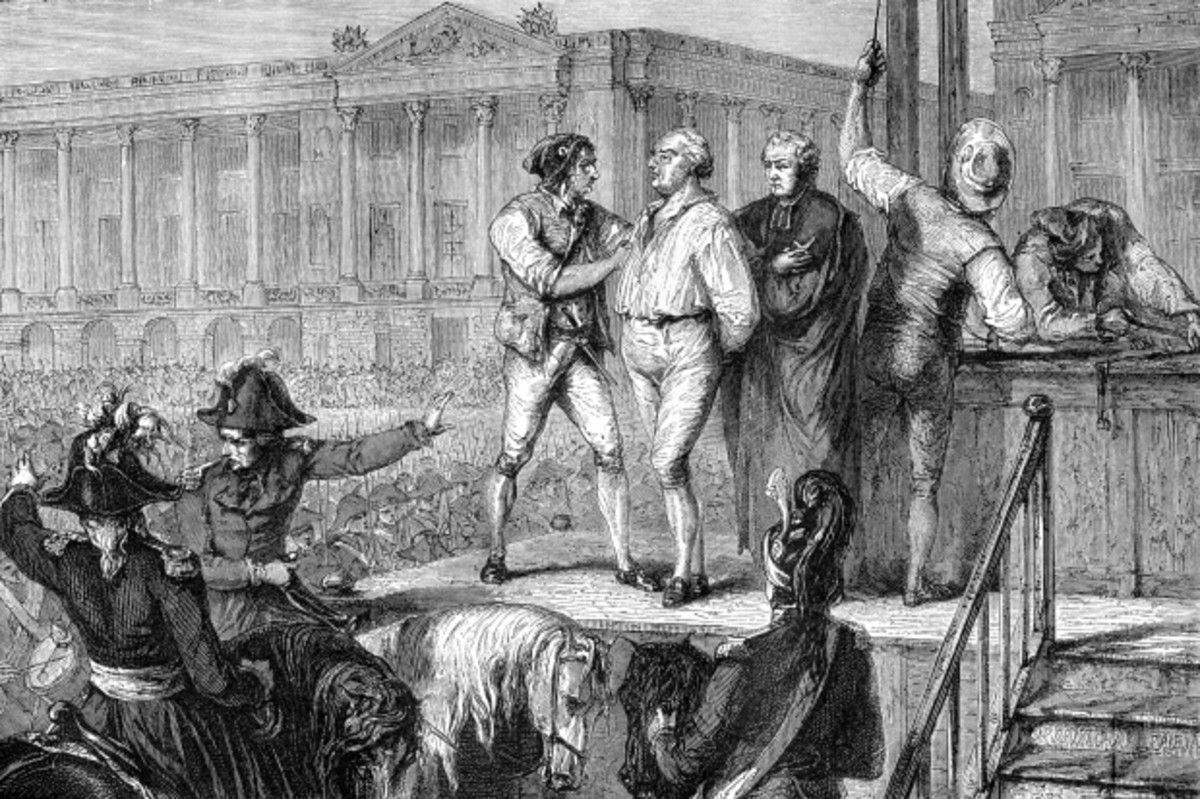 The execution of King Louis XVI. (Image: The Print Collector/Print Collector/Getty Images)