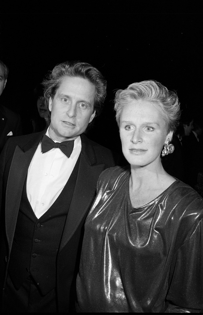 Michael Douglas and Glenn Close, circa 1984. (Photo: The LIFE Picture Collection/Getty Images)