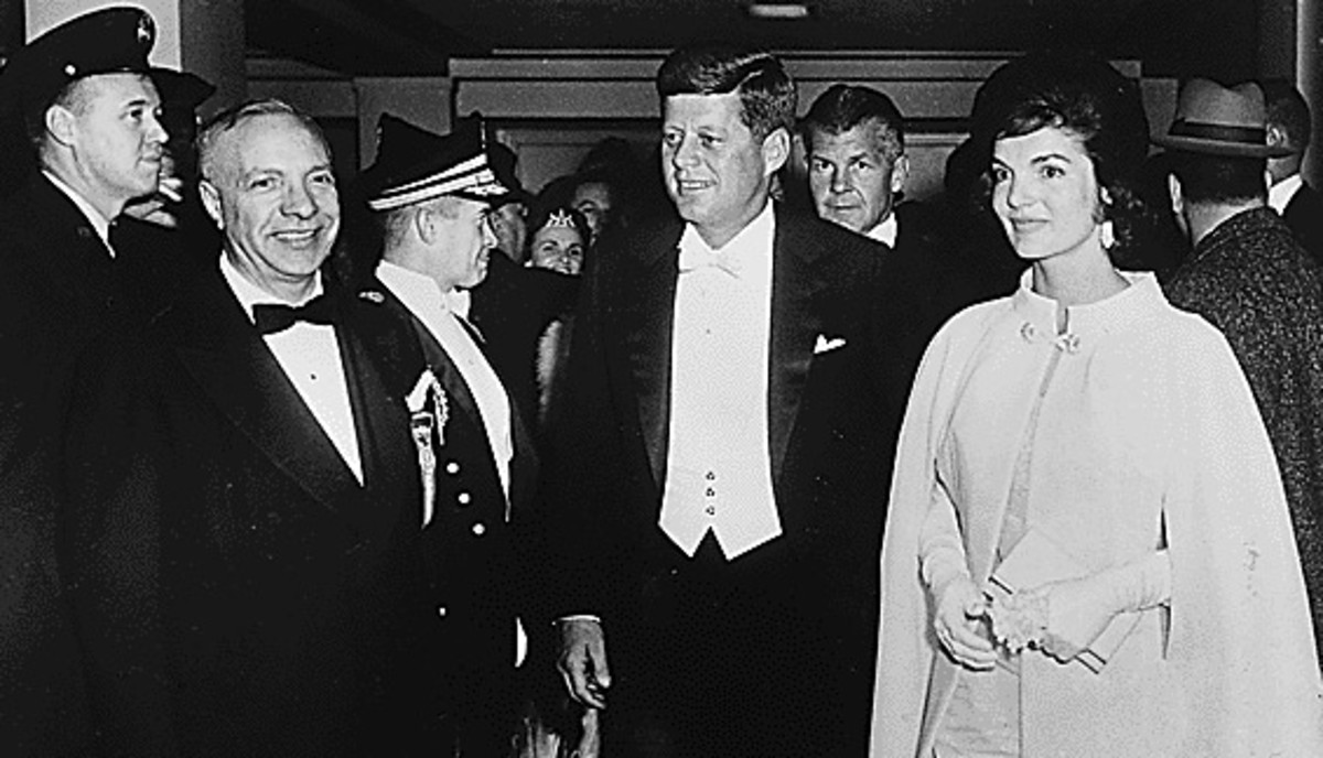 John F. Kennedy: Kennedy and his wife Jackie were very young in comparison to the earlier presidents and first ladies. They were both extraordinarily popular in ways more common to pop singers and movie stars than politicians.