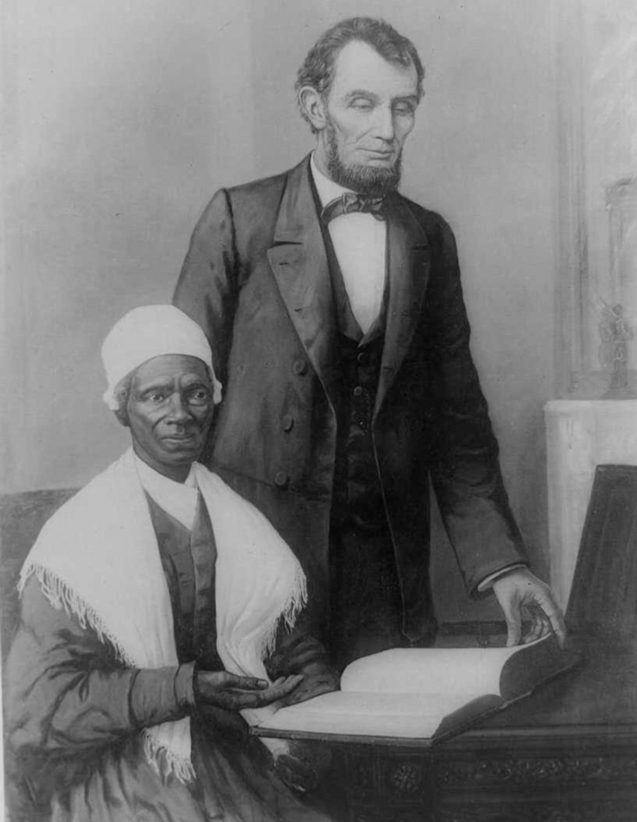 Image result for Lincoln and a black woman