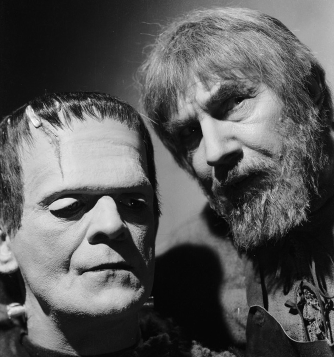 Boris Karloff as The Monster and Lugosi as the evil shepherd Ygor in Son of Frankenstein (1939). (Photo: Bettmann/Getty Images)