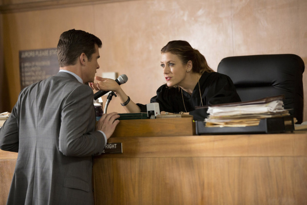 Kate Walsh Bad Judge Photo