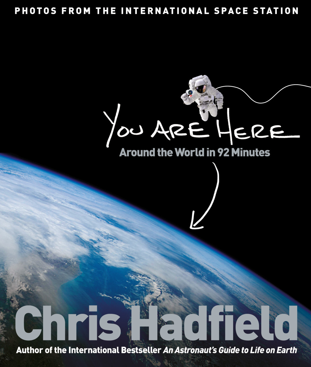 Chris Hadfield Book Photo