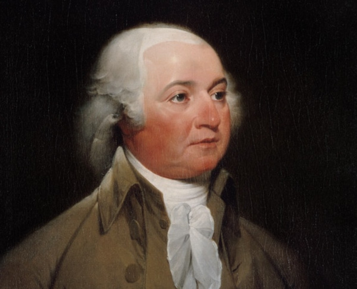 Official presidential portrait of John Adams by John Trumbull. (Image: John Trumbull [Public domain], via Wikimedia Commons)