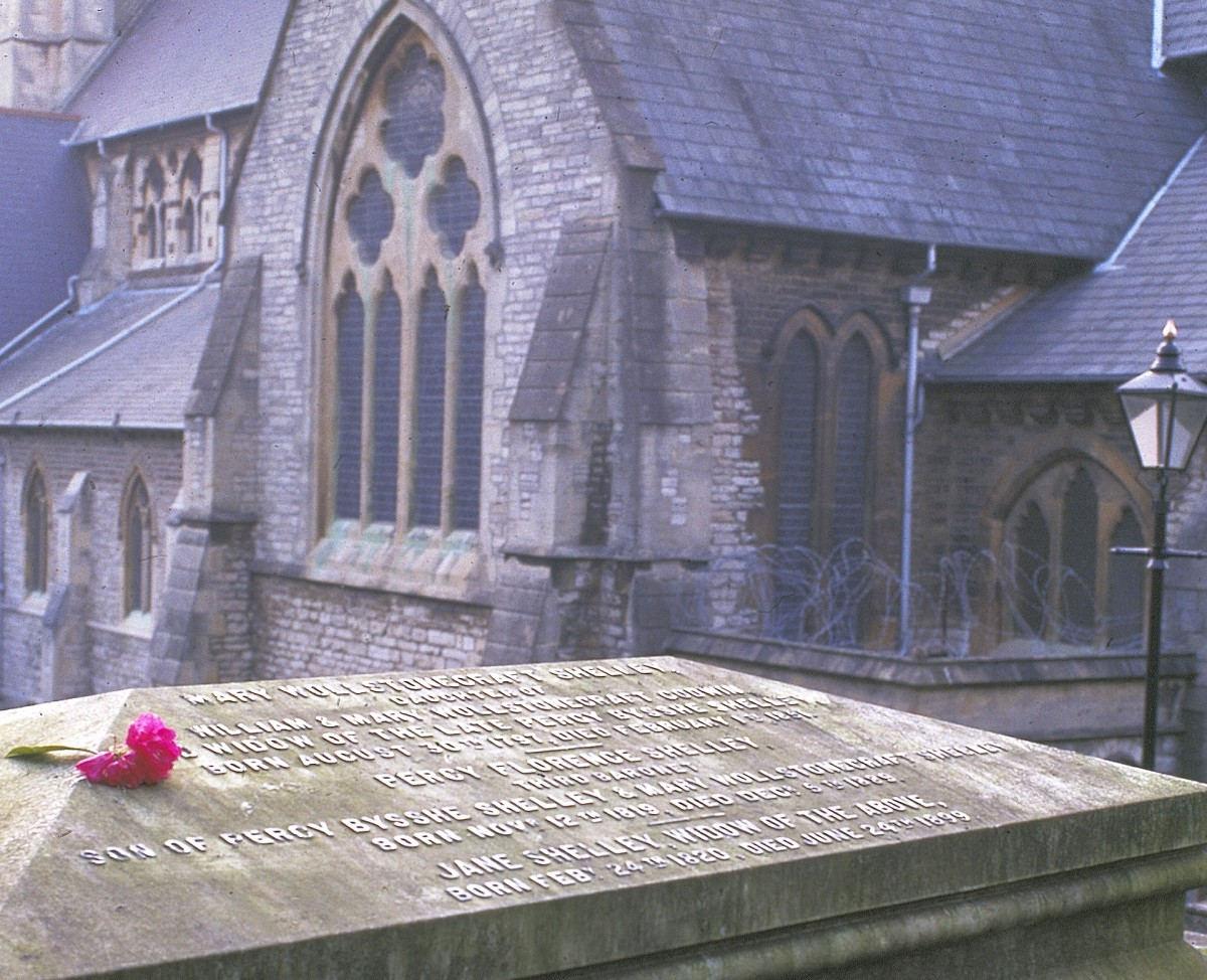 Mary Shelley grave