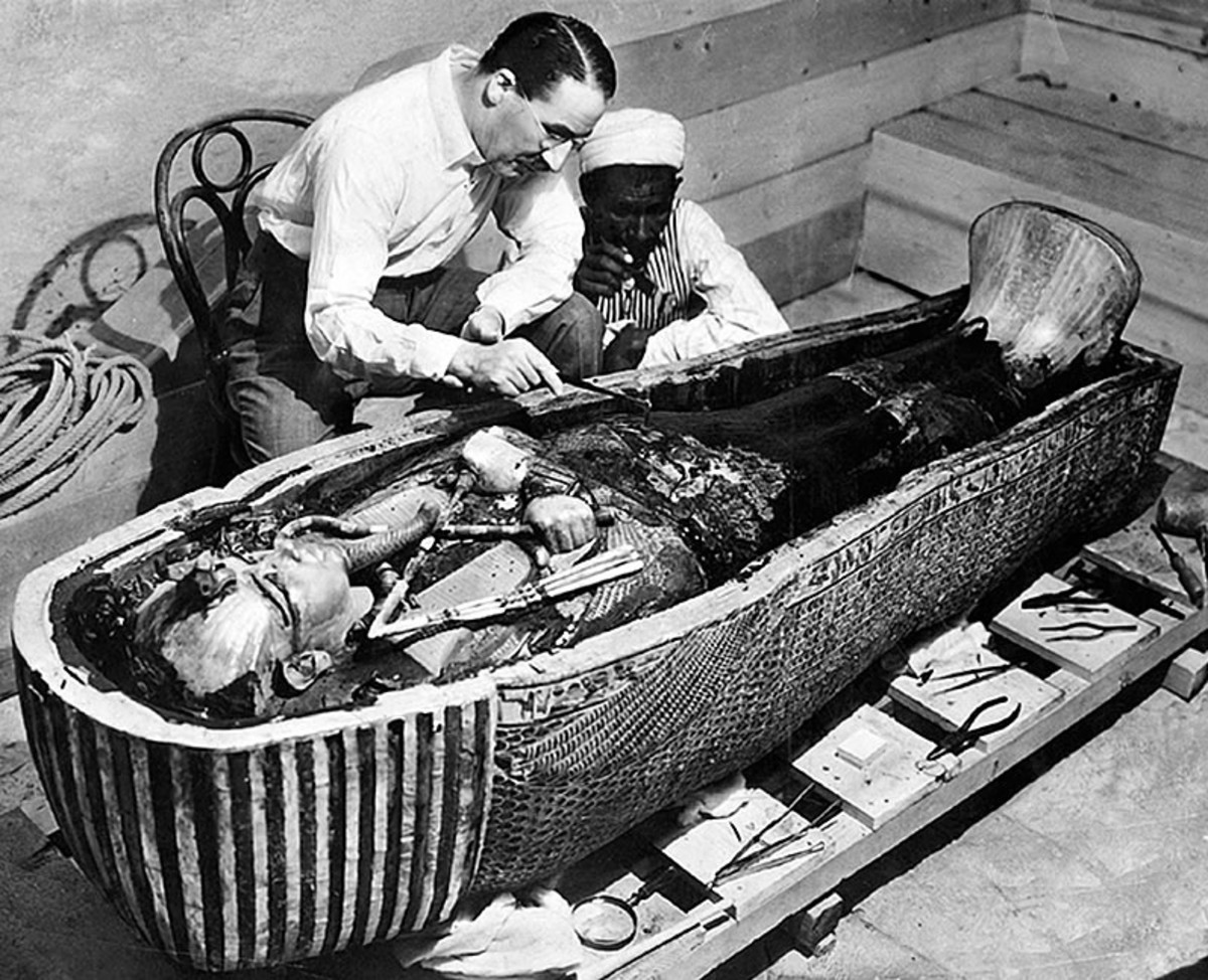 Howard Carter King Tut