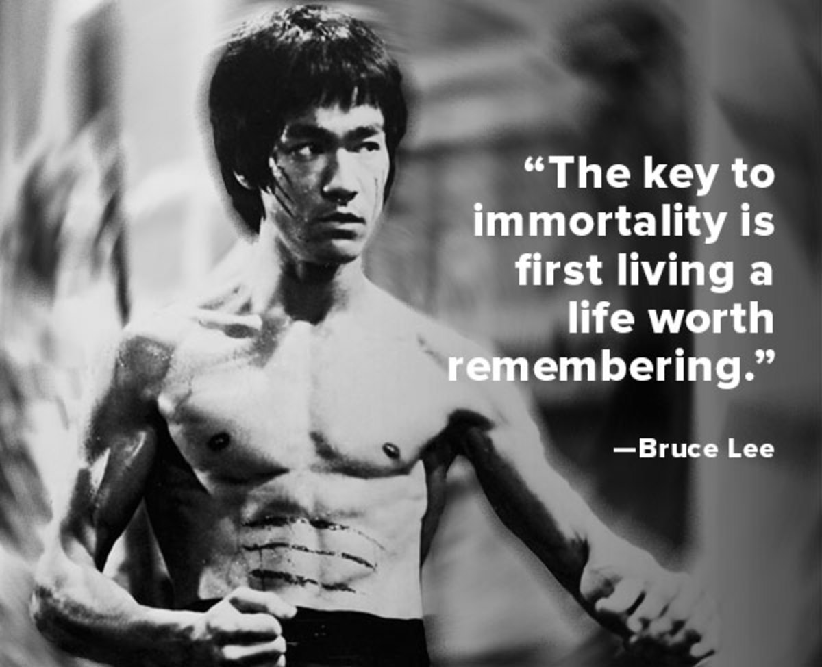 Favoloso Quote of the Week: Bruce Lee - Biography KR16